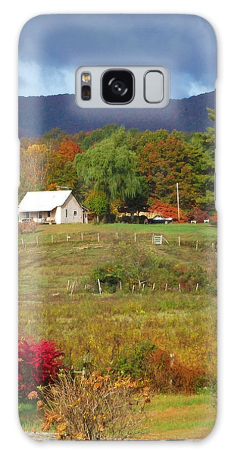 Farms Galaxy S8 Case featuring the photograph Mack's Farm In The Fall 2 Filtered by Duane McCullough