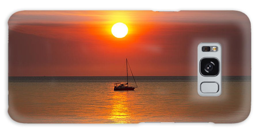 Sailboat Galaxy S8 Case featuring the photograph Majestic Sunset V2 by Douglas Barnard