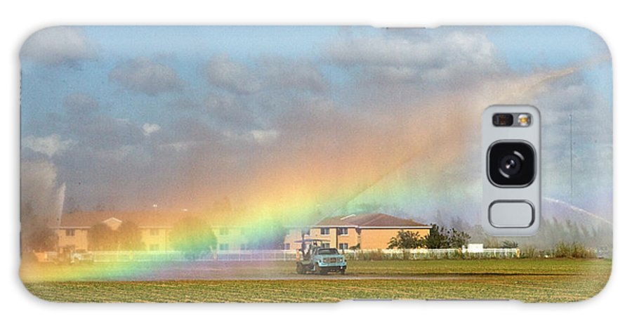 Galaxy S8 Case featuring the photograph Make Your Own Rainbow by Rodney Cammauf