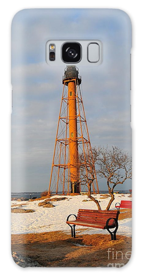 Marblehead Light Is Located On Marblehead Neck In Essex County Galaxy S8 Case featuring the photograph Marblehead Light by Catherine Reusch Daley