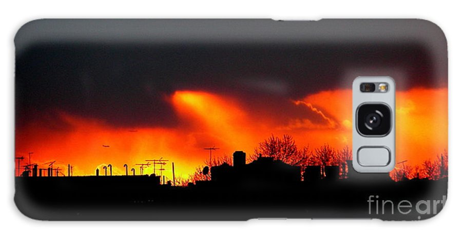 Sunset Galaxy S8 Case featuring the photograph March 1 2008 by Mark Gilman