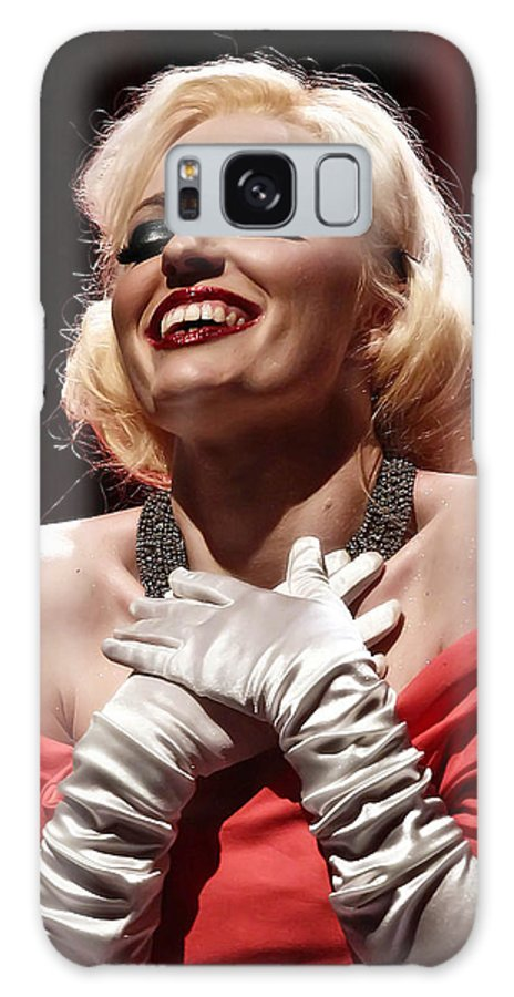 Woman Galaxy S8 Case featuring the photograph Marilyn by Elizabeth Hart