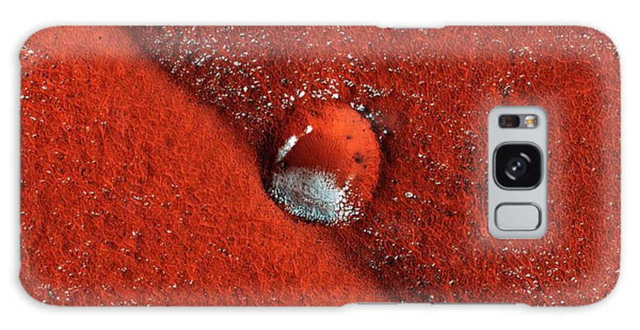 Crater Galaxy S8 Case featuring the photograph Martian Impact Crater, Satellite Image by Nasajpluniversity Of Arizona