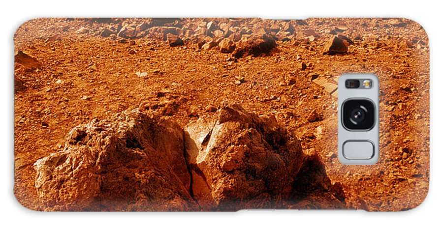 Astronomy Galaxy S8 Case featuring the photograph Martian Landscape by Detlev Van Ravenswaay