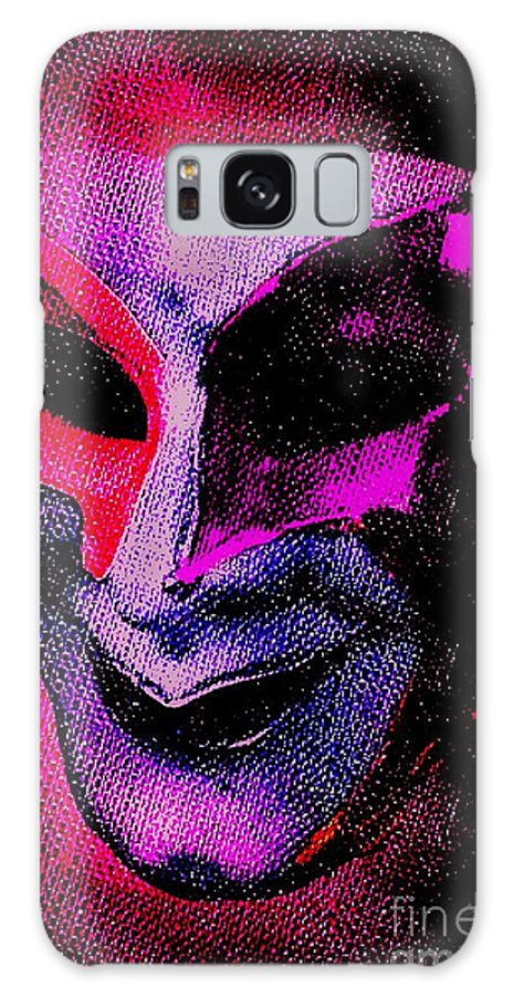 Blair Stuart Galaxy S8 Case featuring the photograph Masks We Hide Behind by Blair Stuart