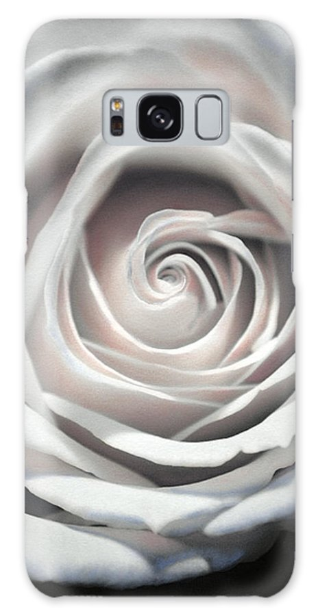 Florals Galaxy S8 Case featuring the photograph May Rose by Linda Dunn