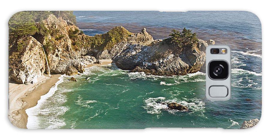Rocky Galaxy S8 Case featuring the photograph Mcway Falls by Jim Chamberlain