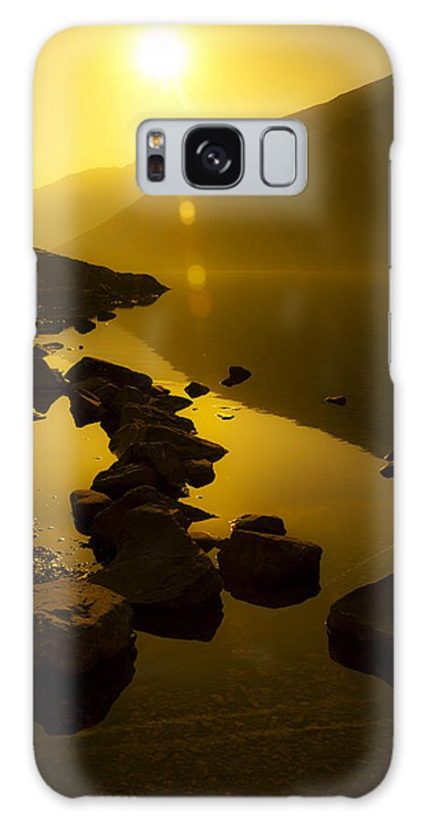 Bay Galaxy S8 Case featuring the photograph Meeting The Sun by Svetlana Sewell