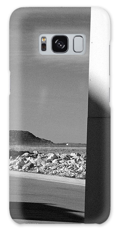 Mesa Galaxy S8 Case featuring the photograph Mesa Seen From A Strip Mall by Louis Nugent