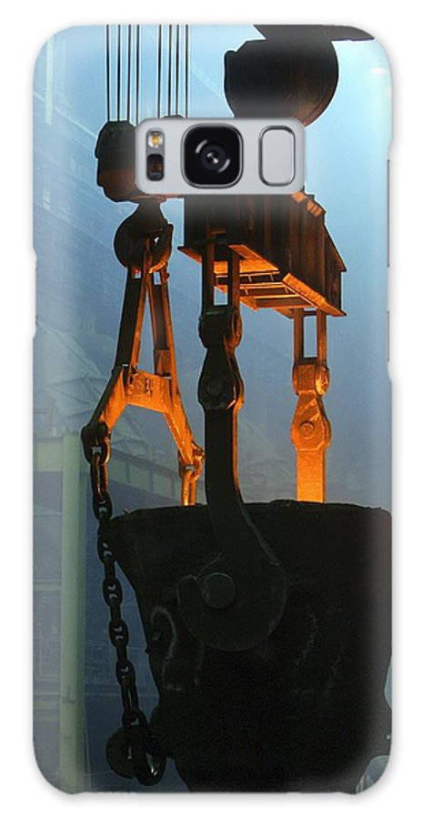 Bucket Galaxy S8 Case featuring the photograph Metalworks Foundry Equipment by Ria Novosti