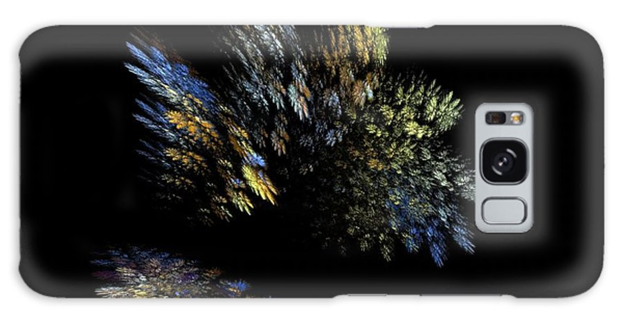 Abstract Galaxy S8 Case featuring the digital art Missing Spots by Ester Rogers