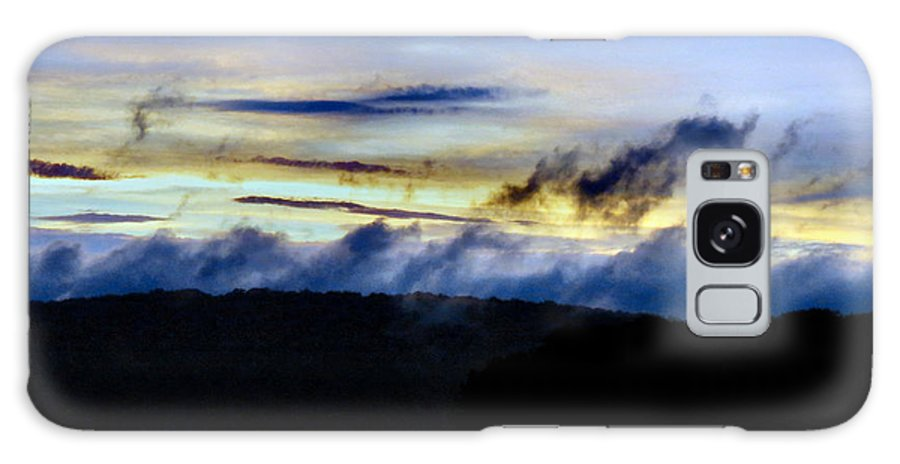 Bold Galaxy S8 Case featuring the photograph Mist After The Storm by Art Dingo