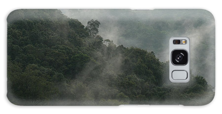 Nicaragua Galaxy S8 Case featuring the photograph Misty Cloud Forest Matagalpa Nicaragua by John Mitchell