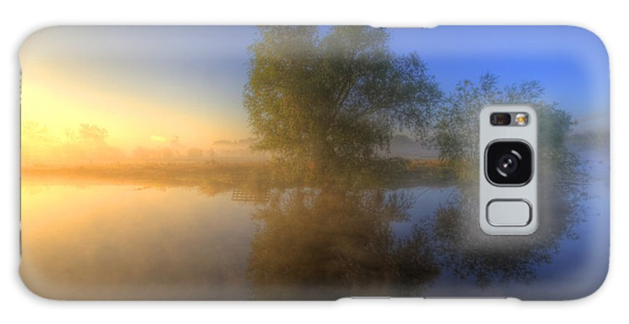 Hdr Galaxy S8 Case featuring the photograph Misty Dawn 1.0 by Yhun Suarez