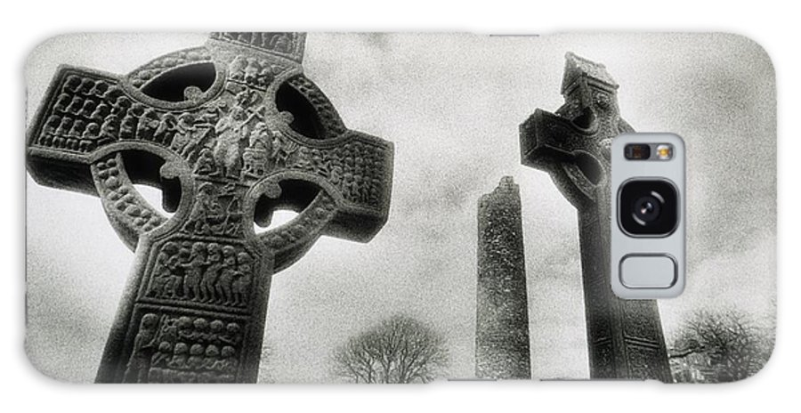 Outdoors Galaxy S8 Case featuring the photograph Monasterboice, Co Louth, Ireland, High by Sici