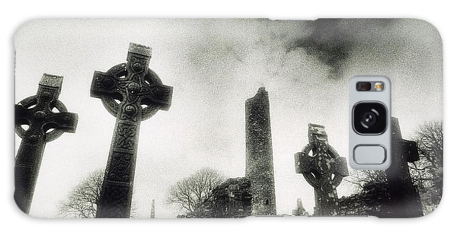 Outdoors Galaxy S8 Case featuring the photograph Monasterboice, Co Louth, Ireland by Sici