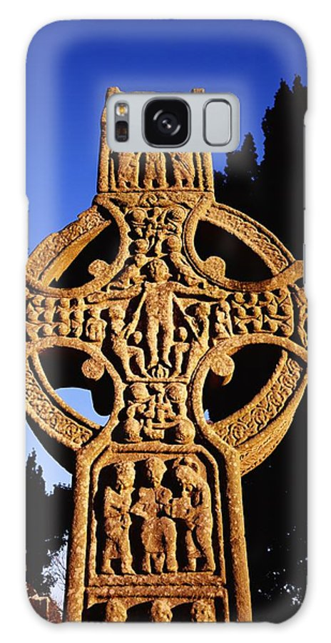 Celtic Galaxy S8 Case featuring the photograph Monasterboice, Co. Louth by The Irish Image Collection