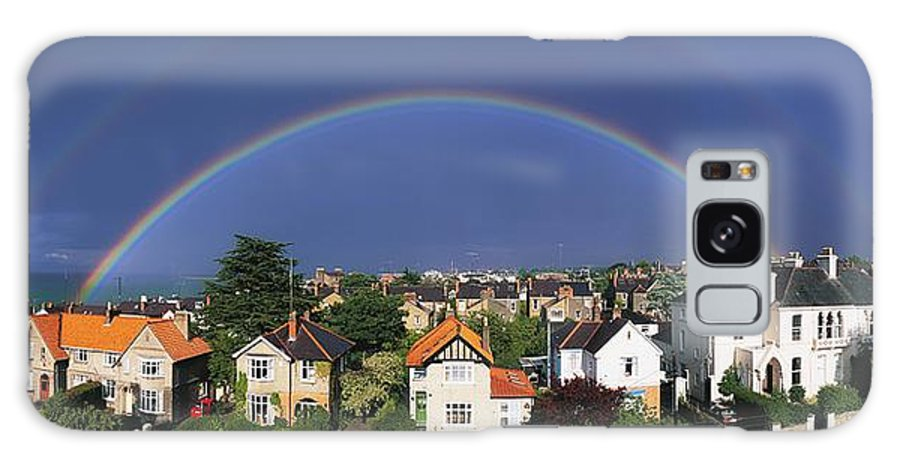 Building Galaxy S8 Case featuring the photograph Monkstown, Co Dublin, Ireland Rainbow by The Irish Image Collection