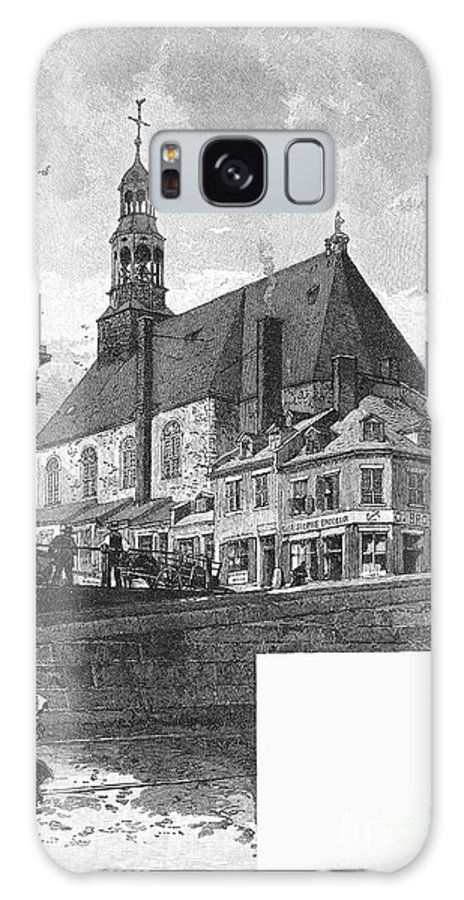 1889 Galaxy S8 Case featuring the photograph Montreal: Bonsecours by Granger