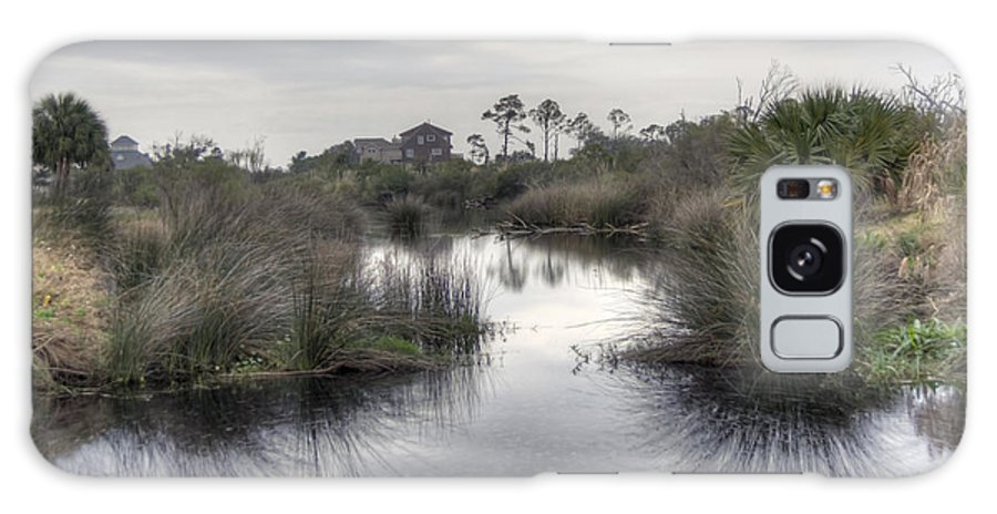 Pensacola Galaxy S8 Case featuring the photograph Moody Marsh by David Troxel