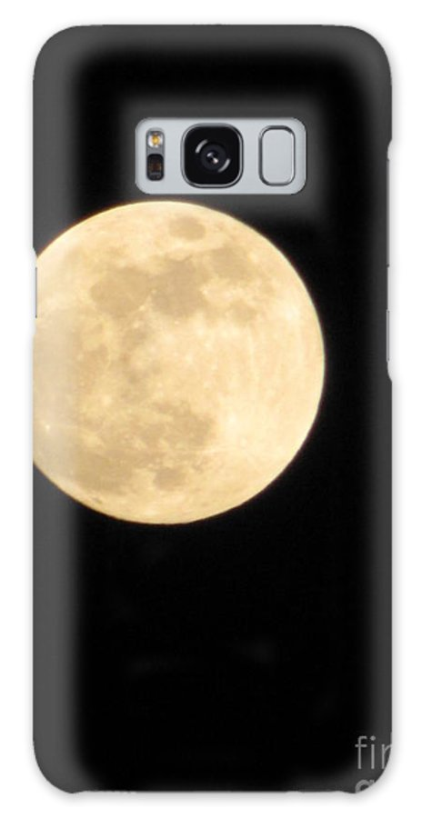 Astronomy Galaxy S8 Case featuring the photograph Moon Galaxy Mercury by Michelle Powell