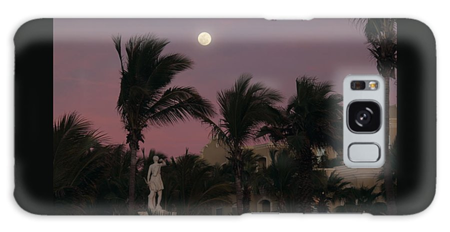 Vacation Galaxy S8 Case featuring the photograph Moonlit Resort by Shane Bechler