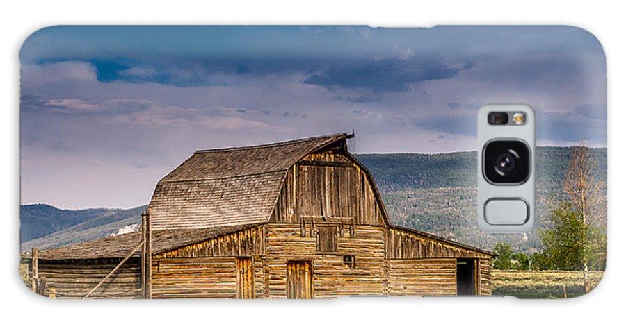 Mormon Row Galaxy S8 Case featuring the photograph Mormon Row Barn 2 by Greg Nyquist
