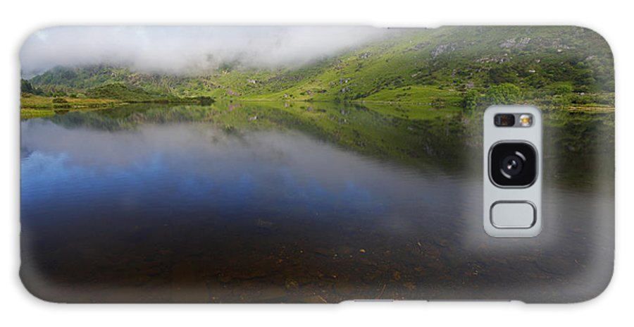 Morning Galaxy S8 Case featuring the photograph Morning Mist Over Gougane Barra Lake by Trish Punch