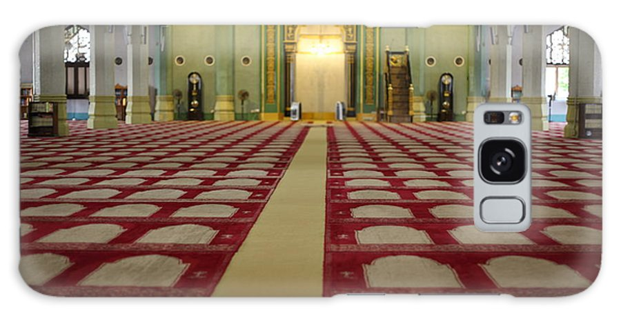 Mosque Galaxy S8 Case featuring the photograph Mosque by Milena Boeva