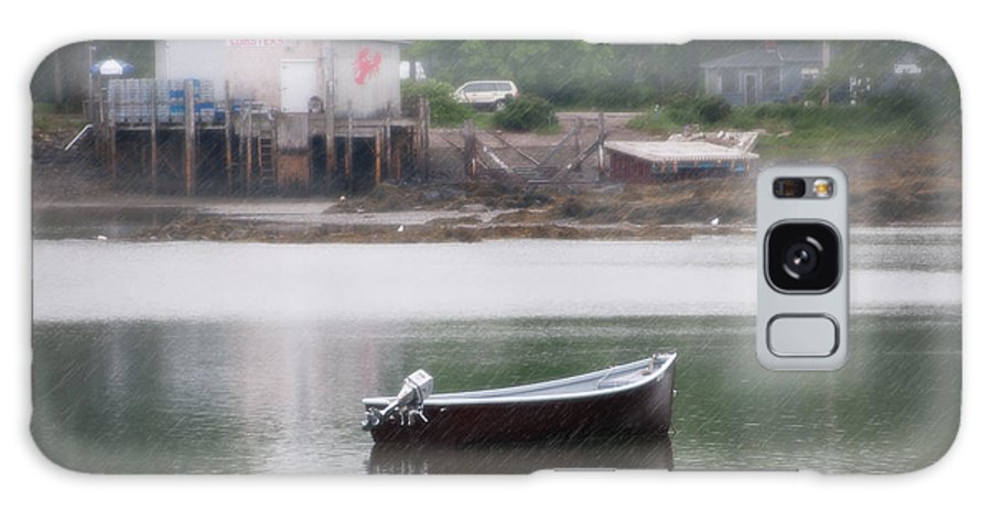 Maine Galaxy S8 Case featuring the photograph Motor Boat Kennebunkport Maine by Anne Kitzman