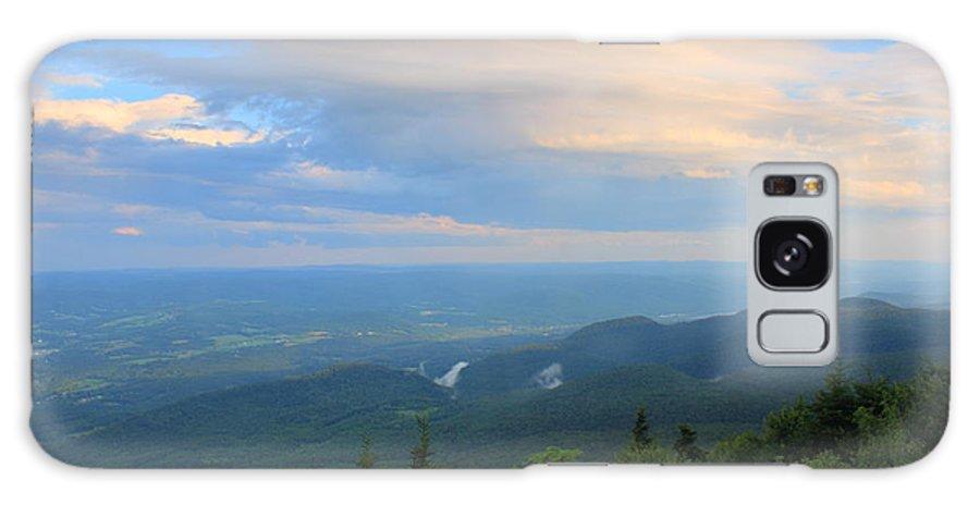 Mount Greylock Galaxy S8 Case featuring the photograph Mount Greylock Adams Overlook by John Burk