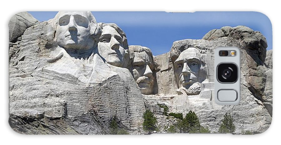 Mount Rushmore Galaxy S8 Case featuring the photograph Mount Rushmore by Living Color Photography Lorraine Lynch
