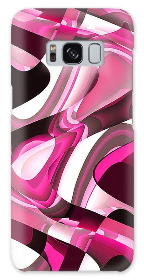 Moveonart! Global Gathering. -- Digital Abstract Art By Artist Jacob Kane -- Omnetra Galaxy S8 Case featuring the digital art Moveonart Dramatique by Jacob Kanduch