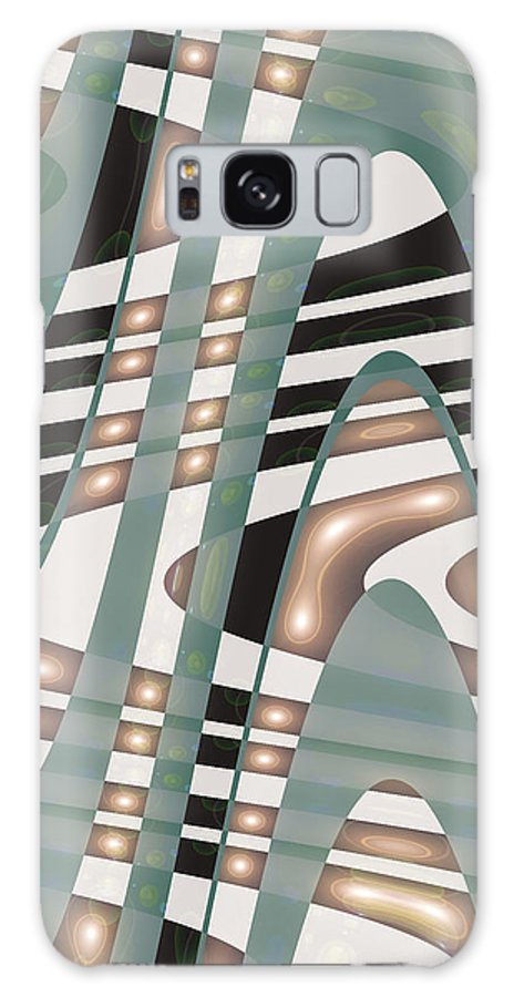 Moveonart! sufficient By Artist Jacob Kane Kanduch -- Omnetra Galaxy S8 Case featuring the digital art Moveonart Sufficient by Jacob Kanduch