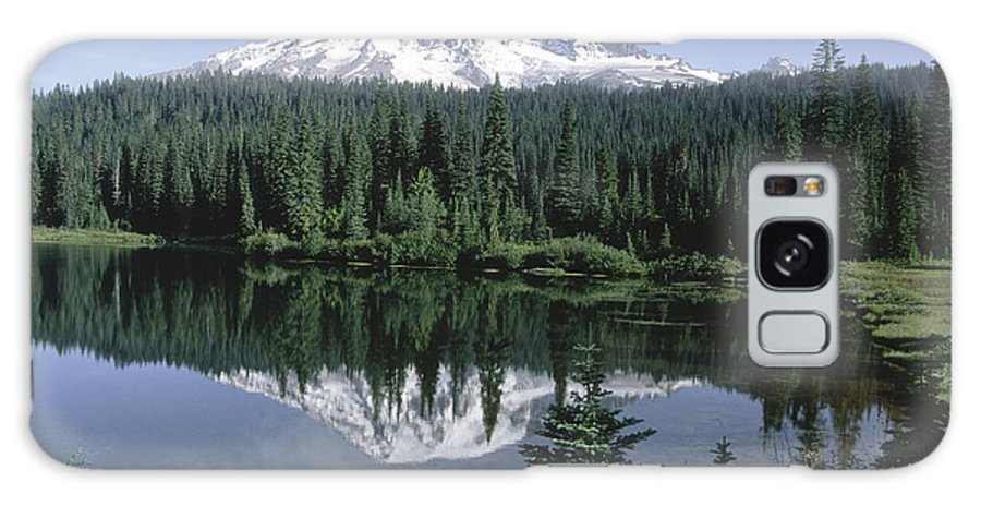 Sandra Bronstein Galaxy S8 Case featuring the photograph Mt. Ranier Reflection by Sandra Bronstein