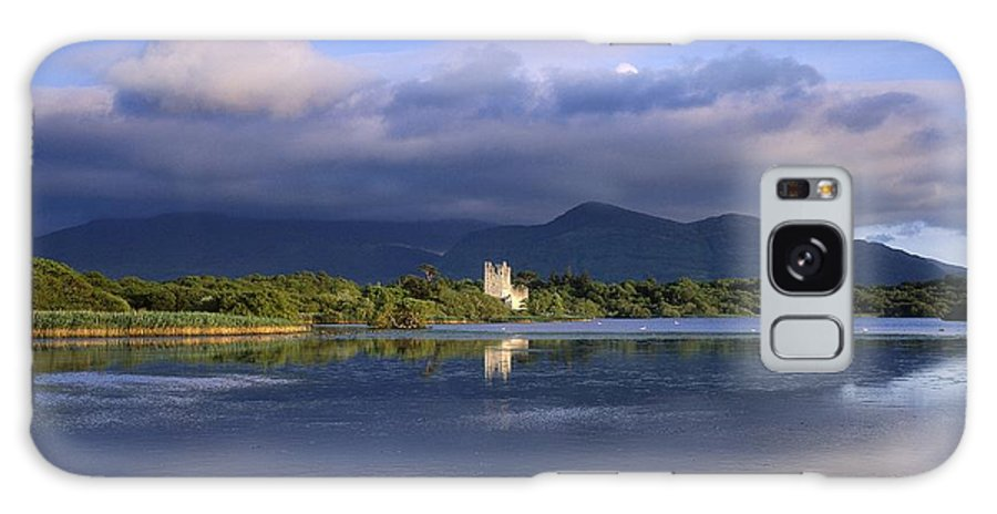 Bay Galaxy S8 Case featuring the photograph Muckross Lake, Ross Castle, Killarney by The Irish Image Collection
