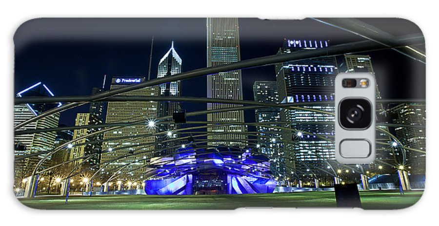 Cj Schmit Galaxy S8 Case featuring the photograph Music In The City by CJ Schmit