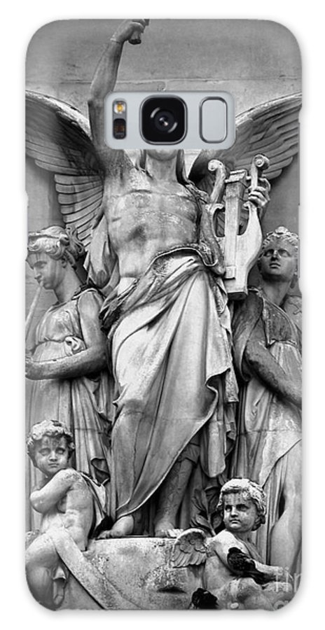 Statue Galaxy S8 Case featuring the photograph Music by Shawna Gibson