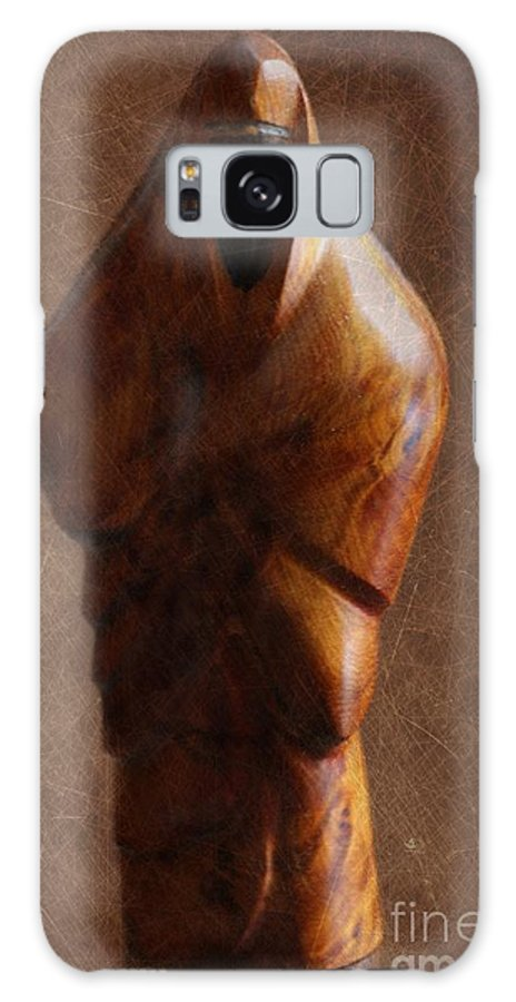 Muslim Galaxy S8 Case featuring the photograph Muslim Figurine by Sophie Vigneault