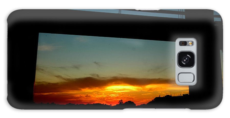 Sunset Galaxy S8 Case featuring the photograph My Window by Mark Gilman
