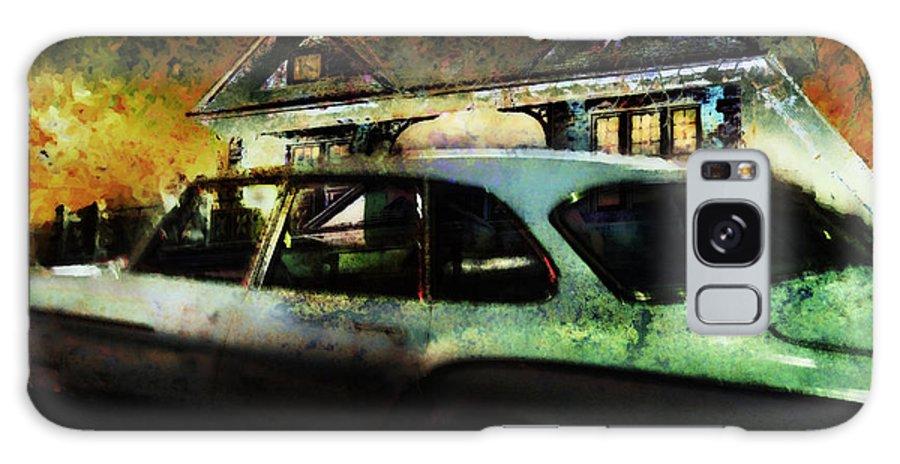 Night Galaxy S8 Case featuring the digital art Mystety Night by Diane Dugas