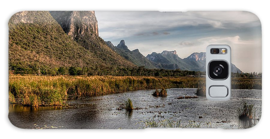 Lake Galaxy S8 Case featuring the photograph National Park Thailand by Adrian Evans