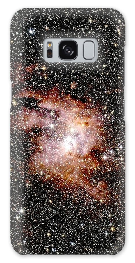Astronomy Galaxy S8 Case featuring the photograph Nebula Ngc 3603 by 2MASS project / NASA