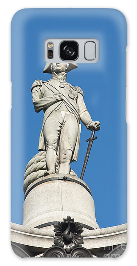 British Galaxy S8 Case featuring the photograph Nelson by Andrew Michael