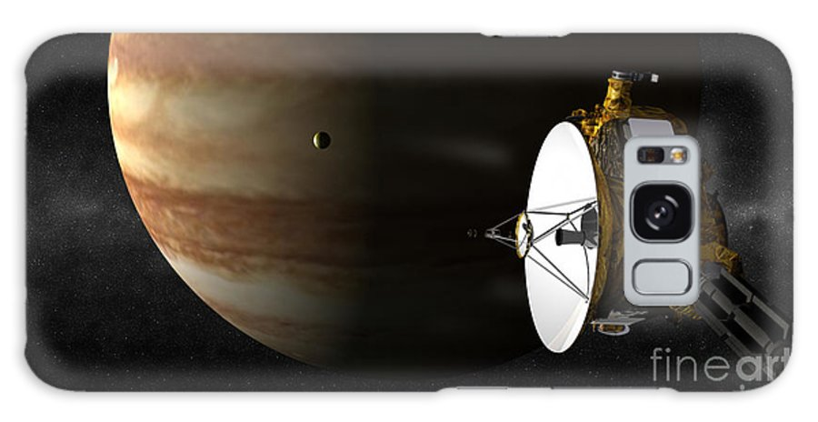 Astronomy Galaxy S8 Case featuring the photograph New Horizons Flies By Jupiter by Johns Hopkins University APL / Southwest Research Institute