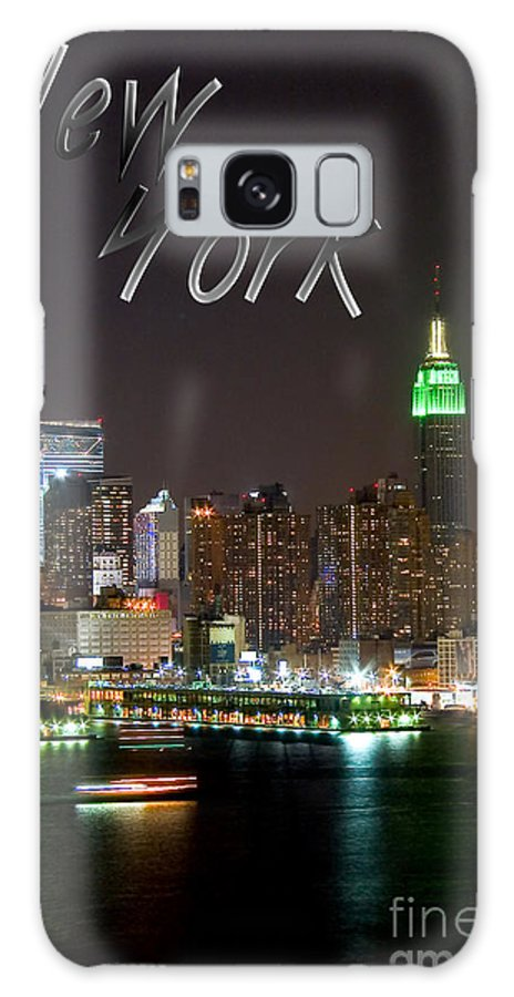 New York Galaxy S8 Case featuring the photograph New York by Syed Aqueel