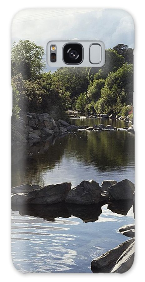 Co. Down Galaxy S8 Case featuring the photograph Newcastle, Shimna River, Co Down by The Irish Image Collection