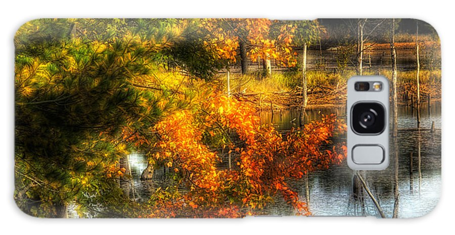 Country Galaxy S8 Case featuring the photograph Niels' Third Pond by John Herzog