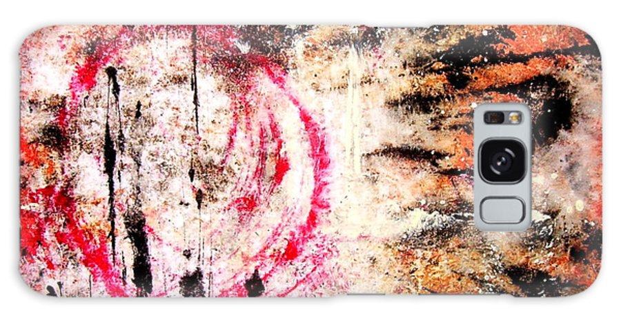 Modern Galaxy S8 Case featuring the painting Niivaraa by Alex Blaha