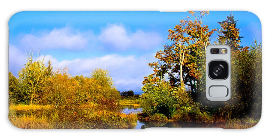 Nisqually Galaxy S8 Case featuring the photograph Nisqually Wildlife Refuge P25 by David Patterson